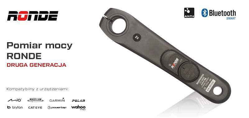 RONDE pomiar mocy Shimano Ultegra FC-6800 172,5mm