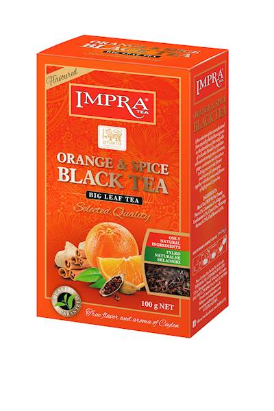 IMPRA LIŚĆ (N) ORANGE & SPICE 100g*30