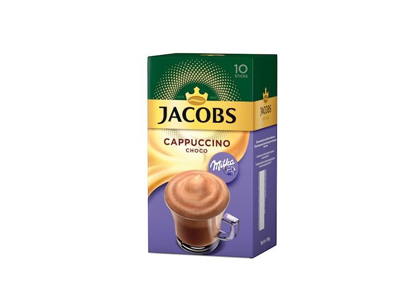 JACOBS CAPUCCINO MILKA 8szt  x18g*10