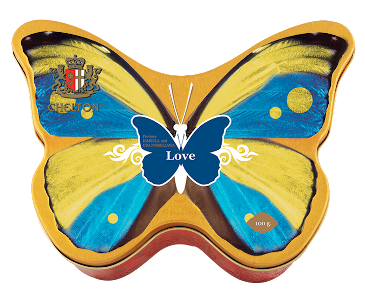 CHELTON PUSZKA BUTTERFLY LOVE 100g*12