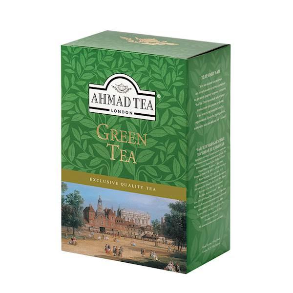 AHMAD LIŚĆ GREEN 100g*24