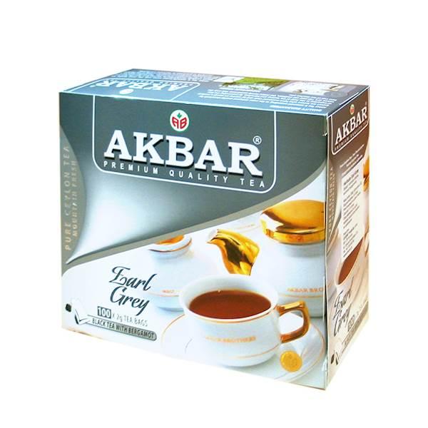 AKBAR EX EARL GREY 100/2g*12
