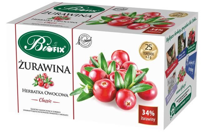 BIFIX EX.CLASSIC ŻURAWINA 25/2g*10