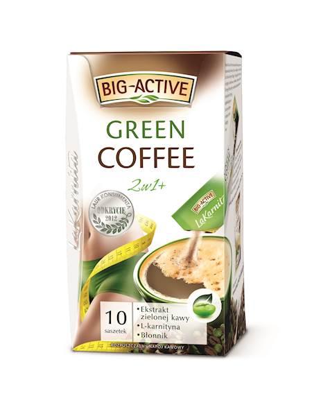 BIG-A KAWA  GREEN COFFE 2w1 10/12g*10