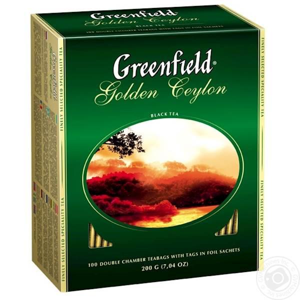 GREENFIELD EX CEYLON 100/2g*9