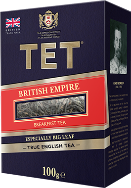 TET LIŚĆ  BRITISH EMPIRE 100g*14