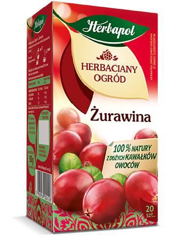 HERBAPOL EX HO ŻURAWINA 20/2,5g*12