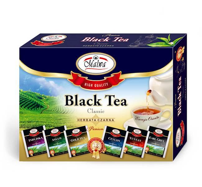 MALWA ZESTAW HERBAT BLACK TEA 6X5/2g*10