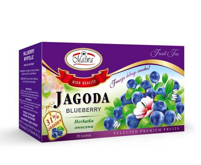 MALWA EX OWOCOWA JAGODA 20/2g*12