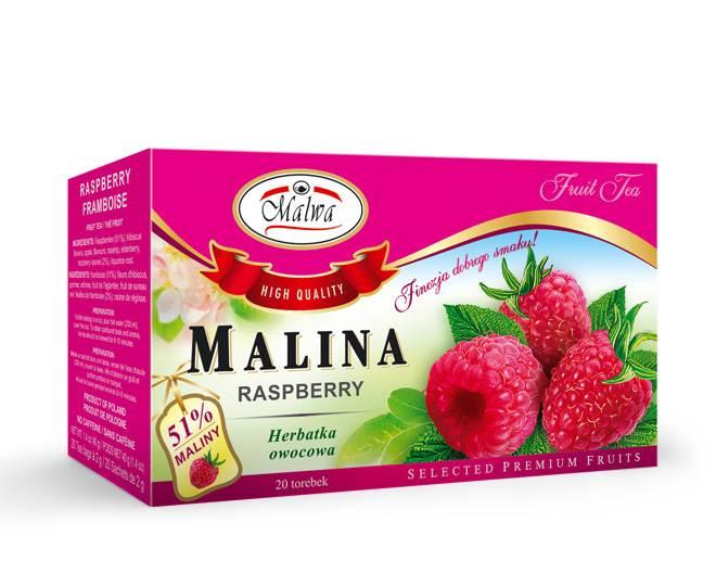 MALWA EX OWOCOWA MALINA 20/2g*12