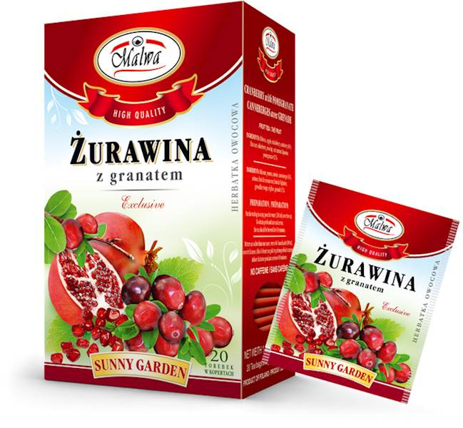 MALWA SG ŻURAWINA Z GRANATEM  20/2g*10