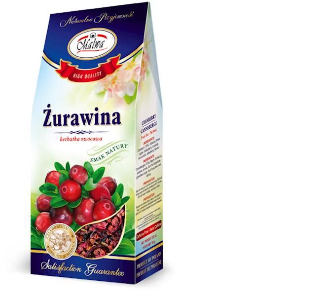 MALWA SUSZ ŻURAWINA 80g*12