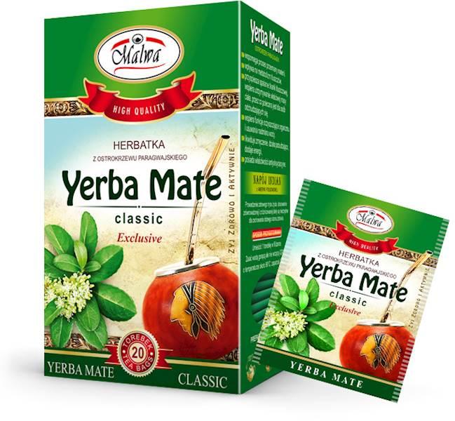MALWA EX YERBA MATE CLASSIC 20/2g*10