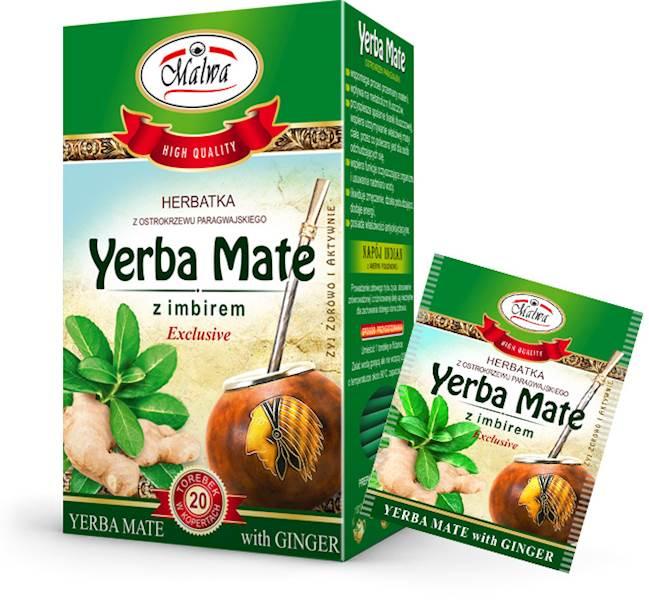 MALWA EX YERBA MATE IMBIR 20/2g*10