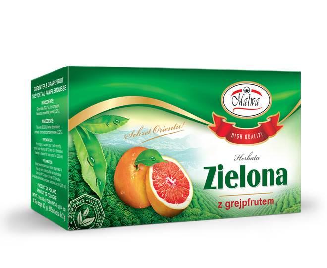 MALWA EX ZIELONA Z GREJPFRUTEM 20/2g*12
