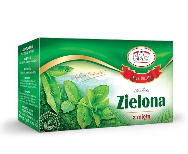 MALWA EX ZIELONA Z MIĘTĄ 20/2g*12