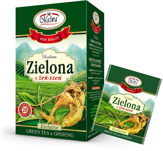 MALWA EX ZIELONA Z ŻEŃSZENIEM 20/1,5g*10