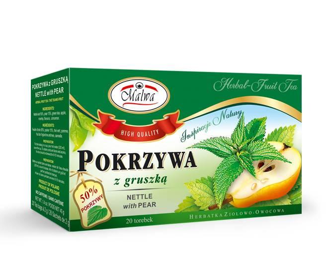 MALWA EX ZIOŁO POKRZYWA Z GRUSZKĄ 20/1,5g*12