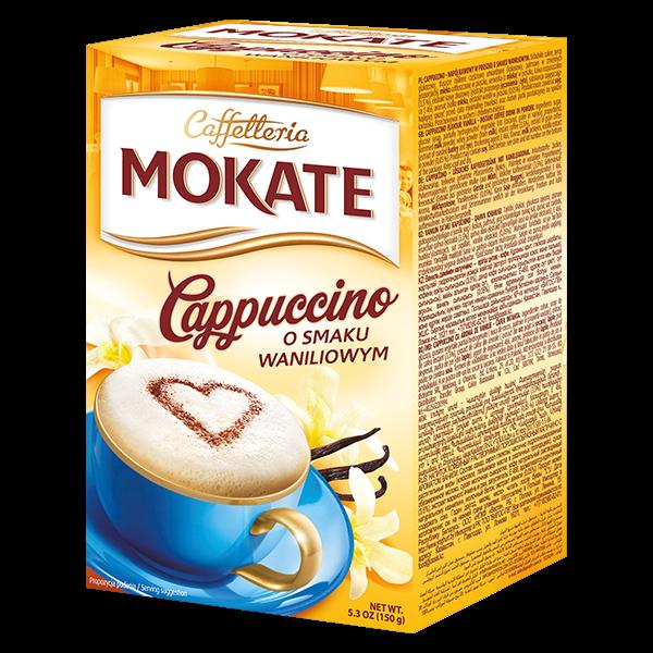 MOKATE CAPP. VANILIOWE 10/15g*9