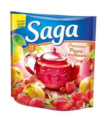 SAGA EX. pigwa i truskawka 20/1,4g*20