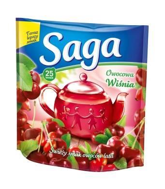 SAGA EX. wiśnia 20/1,4g*20