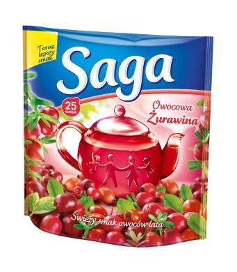 SAGA EX. żurawina 20/1,4g*20