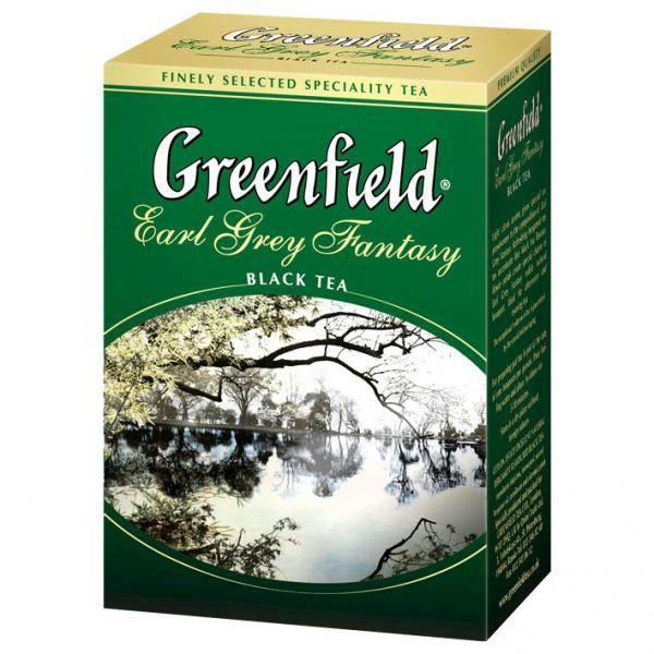 GREENFIELD LIŚĆ E.GREY 100g*14