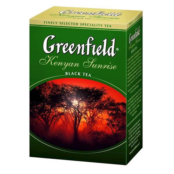 GREENFIELD LIŚĆ KENYAN 100g*14