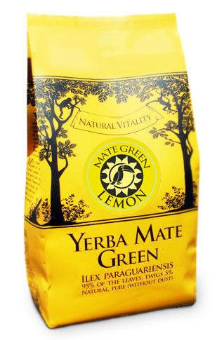 YERBA MATE LIŚĆ LEMON 400g*10