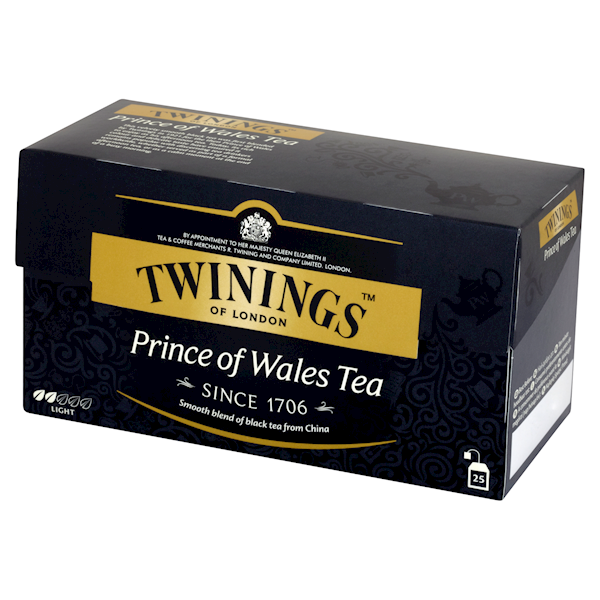 TWININGS EX PRINCE OF WALES  25/2g*12