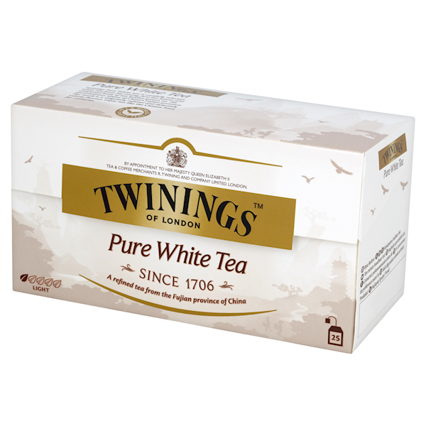 TWININGS EX PURE WHITE 25/2g*12