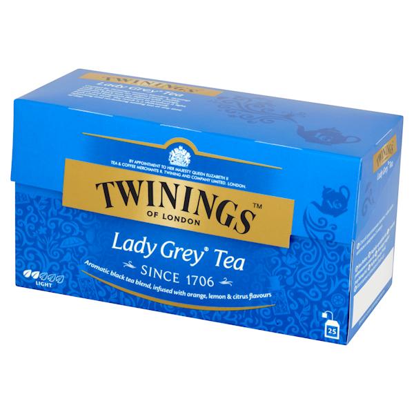TWININGS EX EARL GREY 25/2g*12