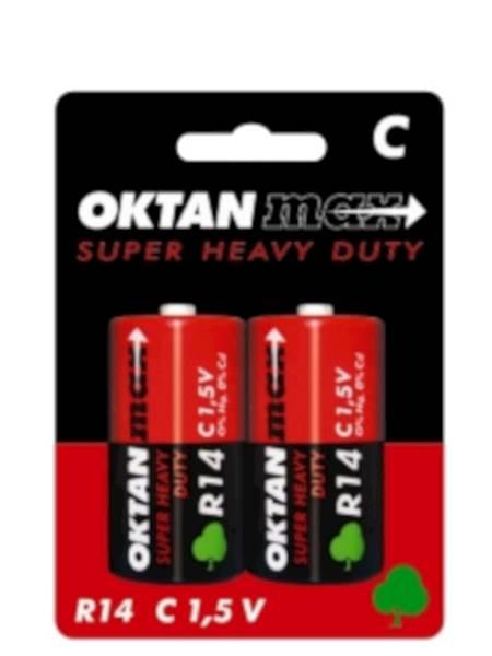 Baterie Oktan R14 2 szt.  /12