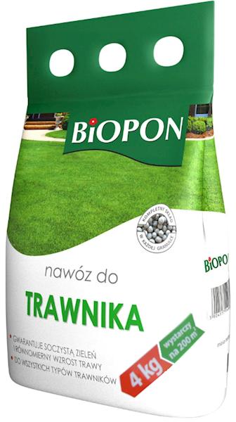 Biopon Nawóz do Trawnika 4kg worek