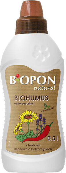 Biopon Biohumus uniwersalny 0,5L
