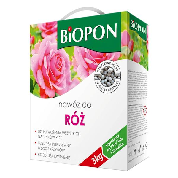 Biopon Nawóz do Róż 3kg karton