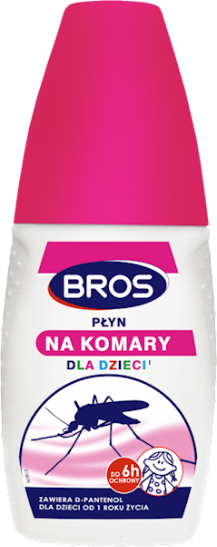 Płyn na komary dla dzieci 50 ml