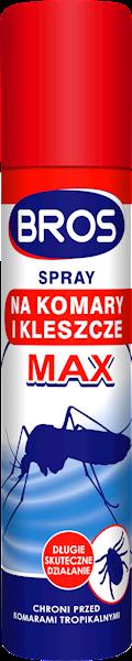 Spray na komary i kleszcze MAX 90 ml