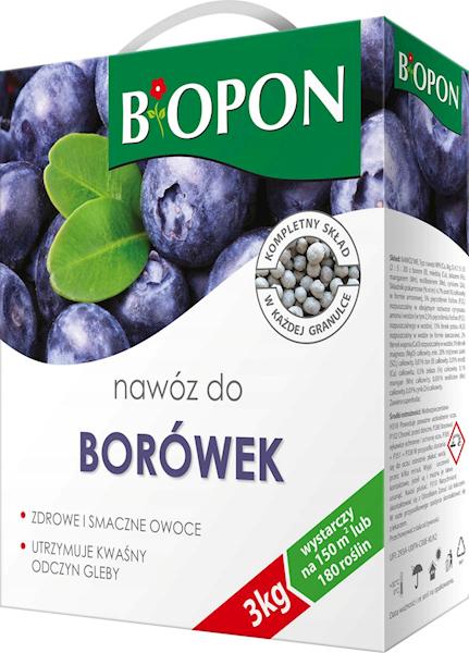 Biopon Nawóz do Borówek 3kg karton