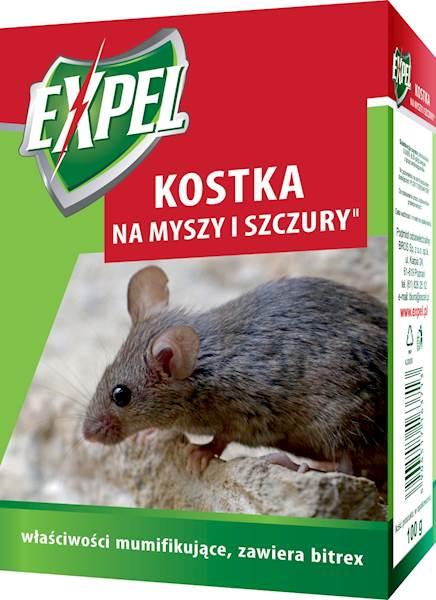 Expel Kostka na myszy szczury 100g