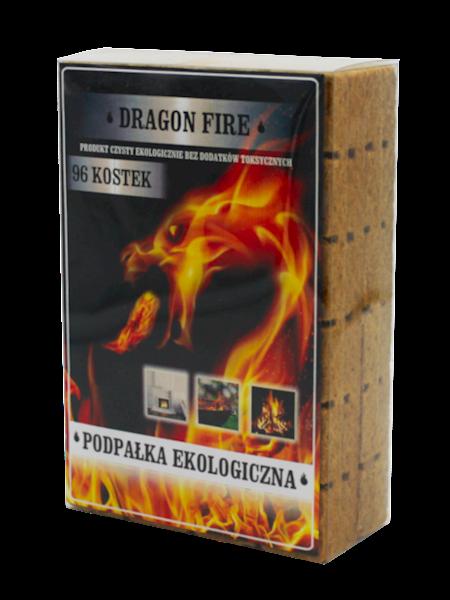 Podpałka Dragon Fire 96 kostek Blister