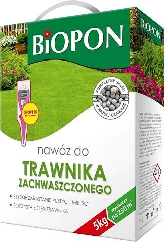 Biopon Nawóz do Traw zachwaszczonych 5kg karton