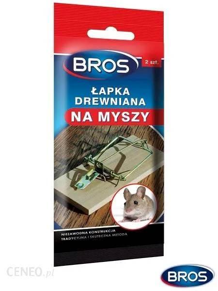 Bros Łapka na myszy 2 szt.