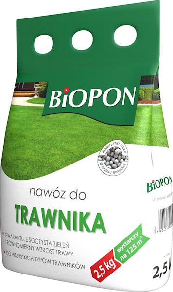 Biopon Nawóz do Trawnika 2,5kg worek