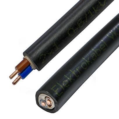 Kabel energetyczny YKY 2x1 ELEKTROKABEL 1m