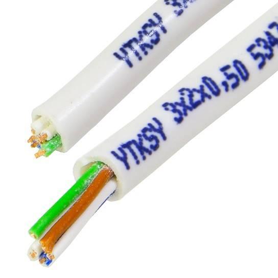 Kabel telekomunikacyjny YTKSY 3x2x0,5 ELEKTRO 100m
