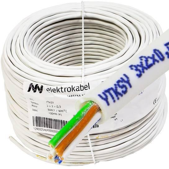 Kabel telekomunikacyjny YTKSY 3x2x0,5 ELEKTROKABEL
