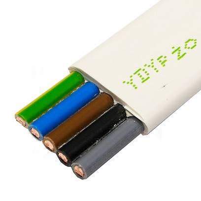 Przewód YDYp 5x4 żo 450/750V ELEKTROKABEL 1m