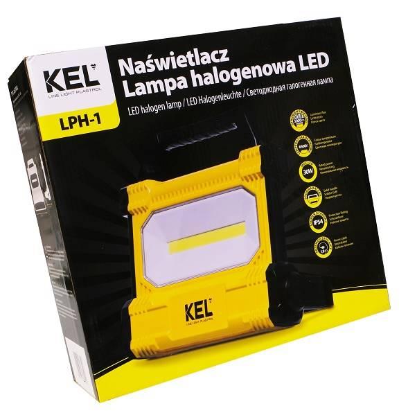 lampa przenośna uchwyt stojak 30W COB LED W-98528