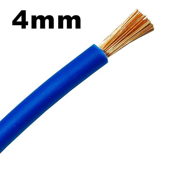 Przewód instalacyjny Lgy linka 4mm niebieski 1m